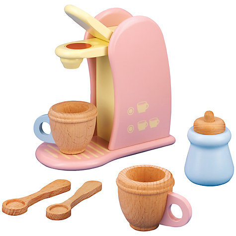 Buy John Lewis Play Kitchen Coffee Machine Online at johnlewis.com