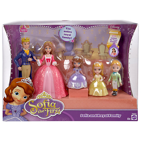 Buy Disney Princess Sofia The First Royal Family Pack Online at johnlewis.com