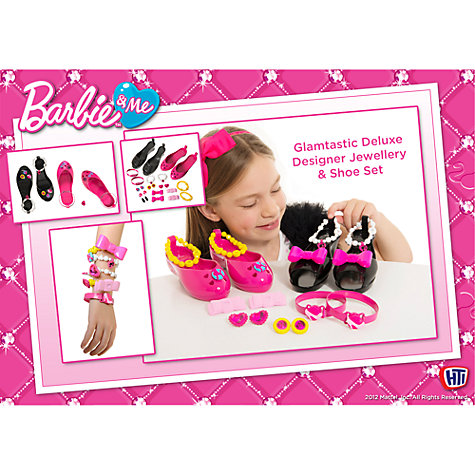 Buy Barbie Deluxe Designer Jewellery Shoe Set Online at johnlewis.com