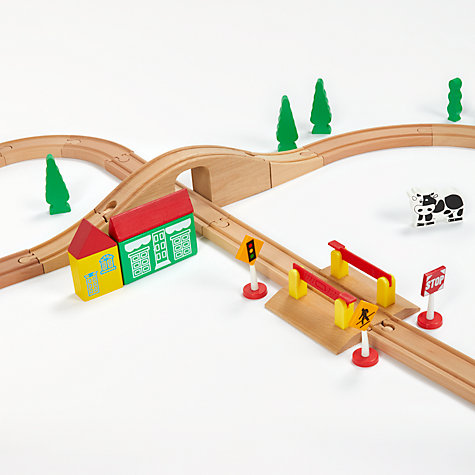 Buy John Lewis 120 Piece Train Set Online at johnlewis.com