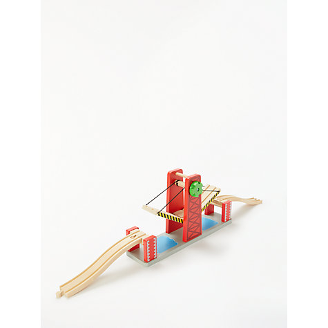 Buy John Lewis Train Set Lifting Bridge Online at johnlewis.com