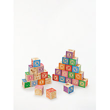 Buy John Lewis Alphabet Blocks Online at johnlewis.com