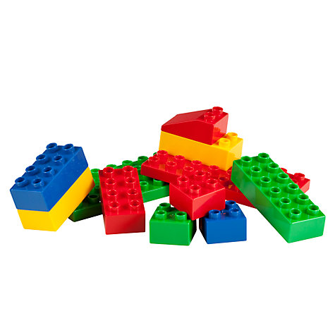 Buy John Lewis 50 Piece Brick Tub Online at johnlewis.com