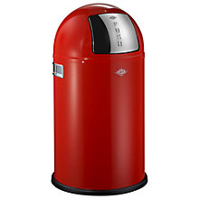 Buy Wesco Pushboy Junior Bin, 22L, Red Online at johnlewis.com