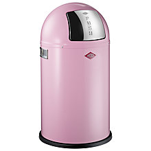 Buy Wesco Pushboy Junior Bin, 22L Pink Online at johnlewis.com