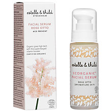 Buy Estelle & Thild Rose Otto Facial Serum, 30ml Online at johnlewis.com