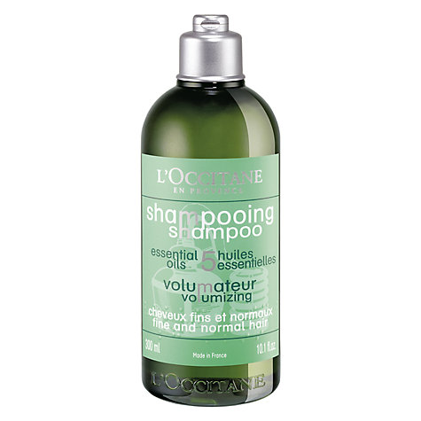 Buy L'Occitane Volumising Shampoo, 300ml Online at johnlewis.com
