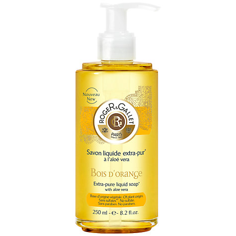 Buy Roger & Gallet Bois d'Orange Liquid Soap, 250ml Online at johnlewis.com