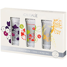 Buy Caudalie Hand Cream Trio Set, 3 x 30ml Online at johnlewis.com