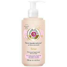 Buy Roger & Gallet Rose Créme Soap, 250ml Online at johnlewis.com