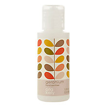 Buy Orla Kiely Geranium Hand Sanitiser, 50ml Online at johnlewis.com