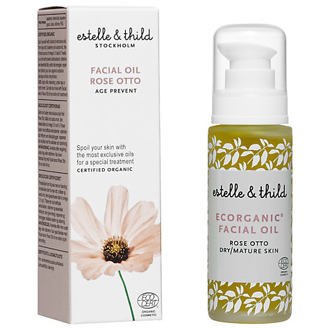 Buy Estelle & Thild Rose Otto Facial Oil, 30ml Online at johnlewis.com