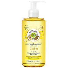 Buy Roger & Gallet Cédrat Citron Liquid Soap, 250ml Online at johnlewis.com