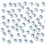 John Lewis 5mm Diamante Gems, Pack of 100
