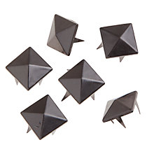 Buy John Lewis 15mm Pyramid Studs, Pack of 6 Online at johnlewis.com