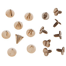 Buy John Lewis Spike Studs, Pack of 8 Online at johnlewis.com