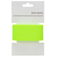 Buy John Lewis 35mm Neon Elastic Online at johnlewis.com