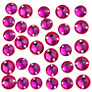 John Lewis 8mm and 10mm Diamante Gems, Pack of 45