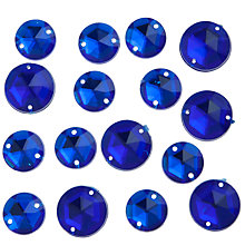 Buy John Lewis 12mm and 14mm Diamante Gems, Pack of 25 Online at johnlewis.com