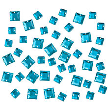 Buy John Lewis 6mm and 8mm Square Diamante Gems Online at johnlewis.com