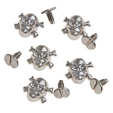 Buy John Lewis Skull Studs, Pack of 8 Online at johnlewis.com