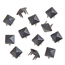Buy John Lewis 7mm Pyramid Studs, Pack of 12 Online at johnlewis.com