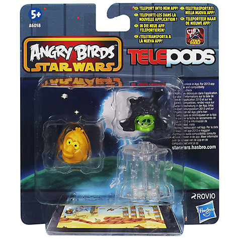Buy Star Wars Angry Birds Telepods Figure Pack, Assorted Online at johnlewis.com