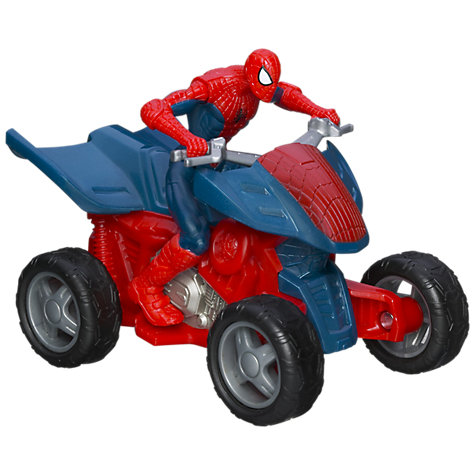 Buy Marvel Ultimate Spider-Man Zoom & Go, Assorted Online at johnlewis.com