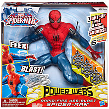 Buy Spider-Man Rapid Fire Blast Figure Online at johnlewis.com