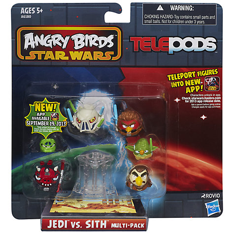 Buy Star Wars Angry Birds Telepods Multi Pack Online at johnlewis.com