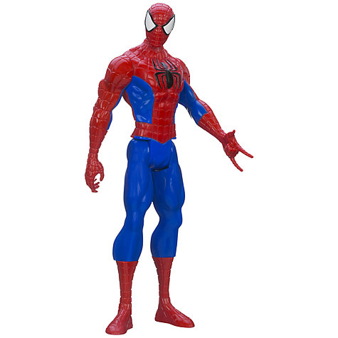 "Buy Ultimate Spider-Man 12"" Titan Figure Online at johnlewis.com"