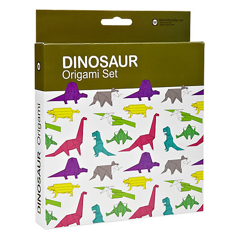 Buy Dinosaur Origami Set Online at johnlewis.com