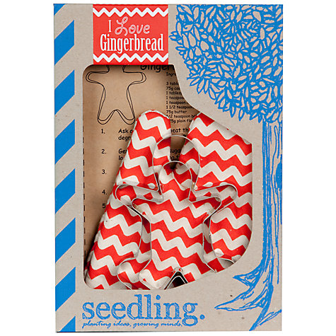 Buy Seedling I Love Gingerbread Baking Kit Online at johnlewis.com