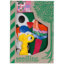 Buy Seedling Owl Bag Kit Online at johnlewis.com