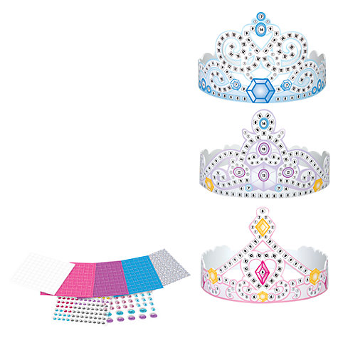 Buy Disney Princess Tiaras Mosaic by Numbers Online at johnlewis.com