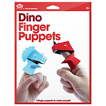 Buy Dino Finger Puppets Online at johnlewis.com