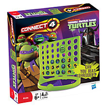 Buy Teenage Mutant Ninja Turtles Connect 4 Game Online at johnlewis.com