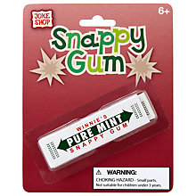 Buy Joke Shop Snappy Gum Online at johnlewis.com