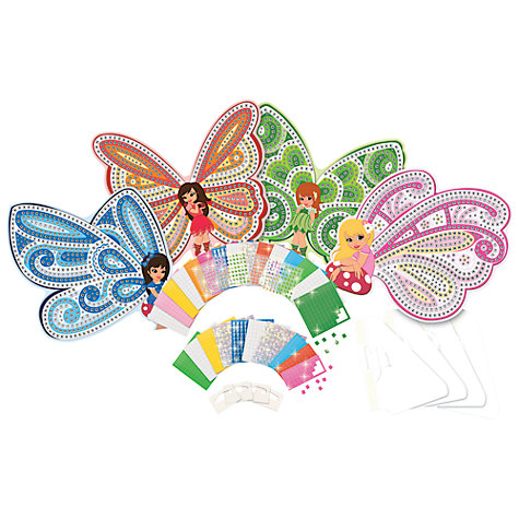 Buy Treasure Trove Sticky Mosaic Fairies Online at johnlewis.com