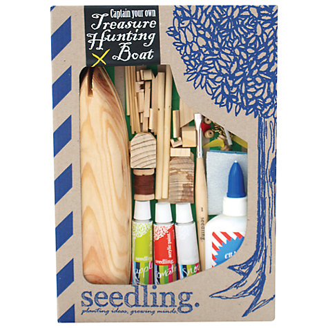 Buy Seedling Captain Your Own Treasure Hunting Boat Kit Online at johnlewis.com