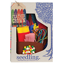 Buy Seedling Make Your Own Feather Crown Online at johnlewis.com