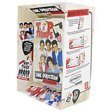 Buy Top Trumps One Direction Tin Online at johnlewis.com
