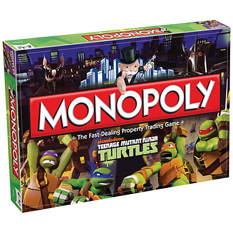 Buy Monopoly Teenage Mutant Ninja Turtles Edition Online at johnlewis.com