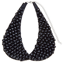 Buy COLLECTION by John Lewis Sparkling Beads Bib, Black Online at johnlewis.com