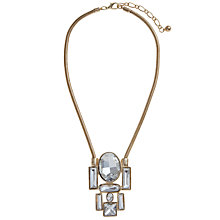 Buy COLLECTION by John Lewis Multi Stone Pendant, Gold Online at johnlewis.com