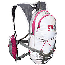 Buy Nathan Torchlight Intensity Race Vest Backpack, Silver/Purple Online at johnlewis.com