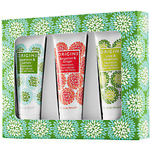 Buy Origins Hand Lotion Trio Gift Set Online at johnlewis.com