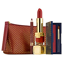 Buy Estée Lauder Lush Lips Gift Set, Caramel Nude Online at johnlewis.com