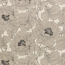 Buy John Lewis Atulya Flower Curtain, Cream Online at johnlewis.com