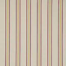 Buy John Lewis Belgrave Stripe Curtain, Magenta Online at johnlewis.com